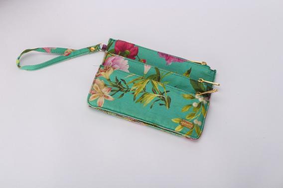 Bolsa De Mão Estampa Floral