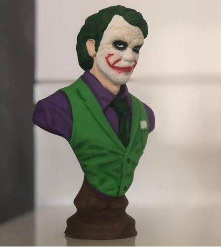 Busto Do Coringa 20cm Dc Action Figure Para Colecionador