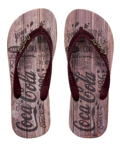 Chinelo Coca Cola Guests Cc2428 Masculino 361378   Calcebel