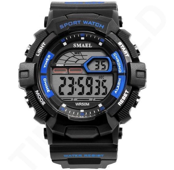 Relógio Smael Masculino Digital Esportivo Á Prova D