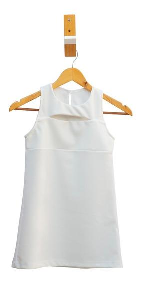 Combo X 2 Vestidos Nena Crepe Elastizado Talles 8 Al 16