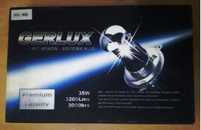 Kit Conversão Lâmpada Sistema Xenon H.i.d Gerlux