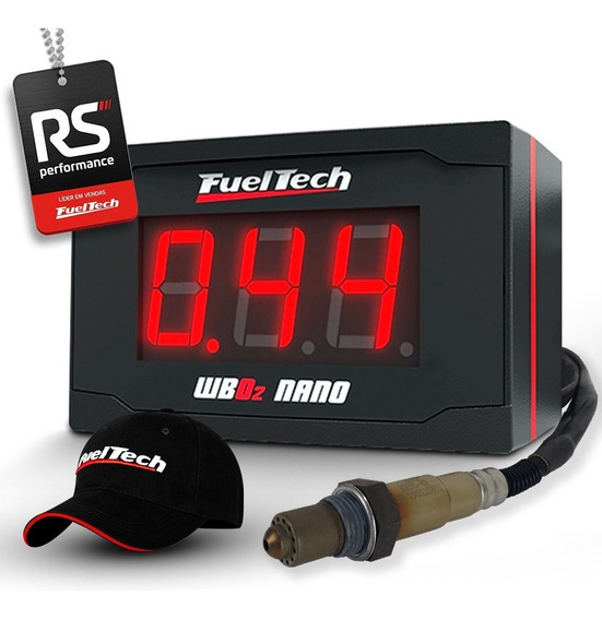 Fueltech Wideband Nano Com Sonda Metal Horse 2 M Wide Band