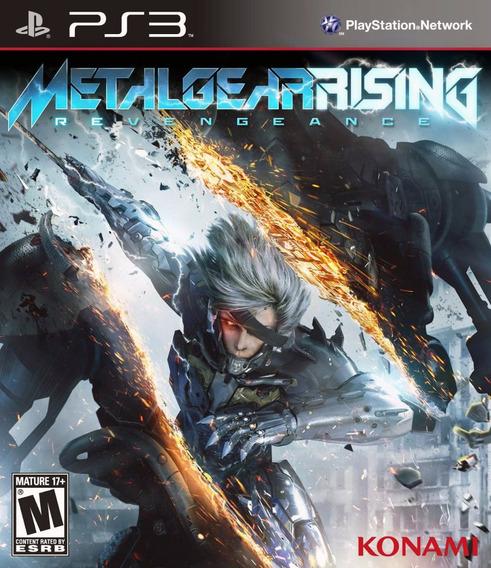 Game Ps3 Metal Gear Rising Revengeance - Mídia Física