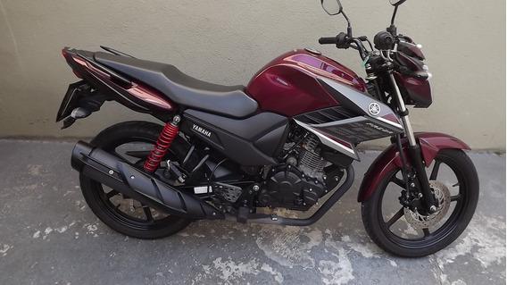 Yamaha Fazer 150 Sed 2018 Vermelha
