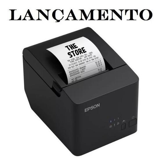 Impressora Não Fiscal Epson Tm-t20x Guilhotina Serial E Usb