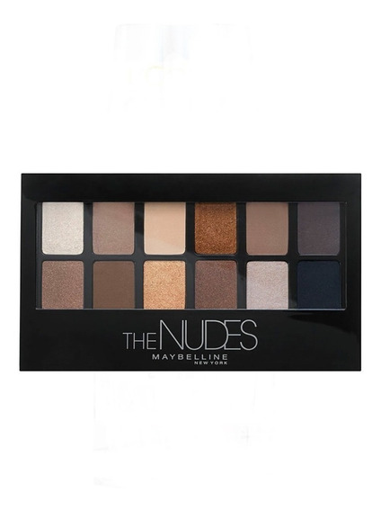 Paleta De Sombras The Nudes Maybelline