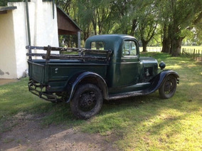 Ford A Modelo 1929 2 Puertas Verde