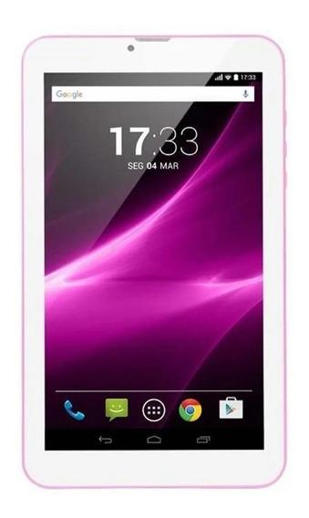 Tablet M9-3g Quad 8gb 9 Rosa Multilaser - Nb248 Mostruario