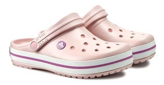 Crocs Crocband - Pearl Pink / Wild Orchid