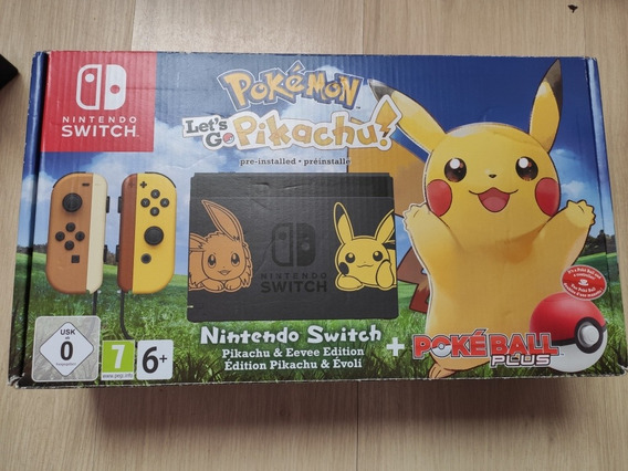 Nintendo Switch Pokémon Let