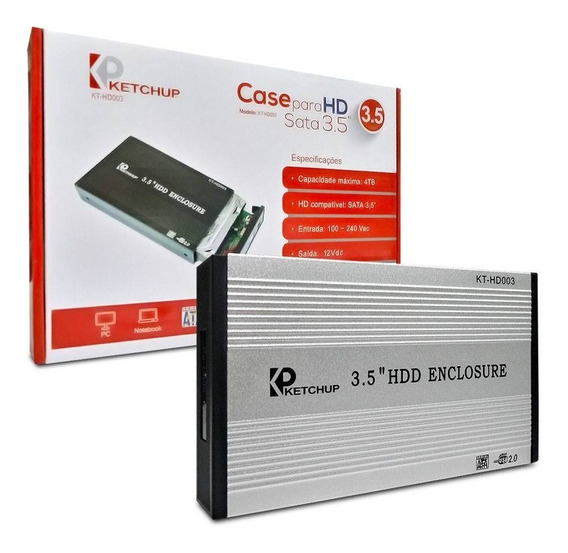 Carry Disk (case Hdd 3.5) Usb 2.0 Con Fuente