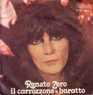 Renato Zero Il Carrozzone Baratto Pop Italiano Simple Pvl