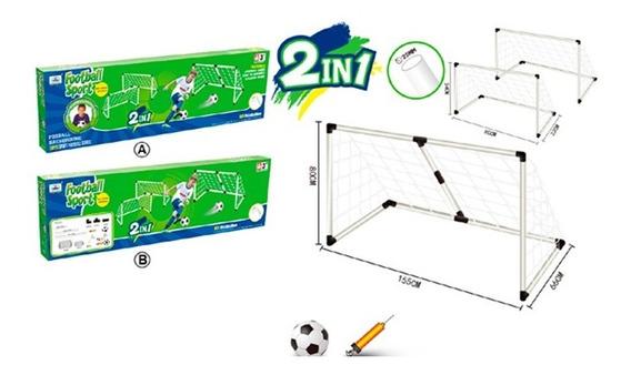 Arco De Futbol 2 En 1 155x66x80cm 1817701 E.normal
