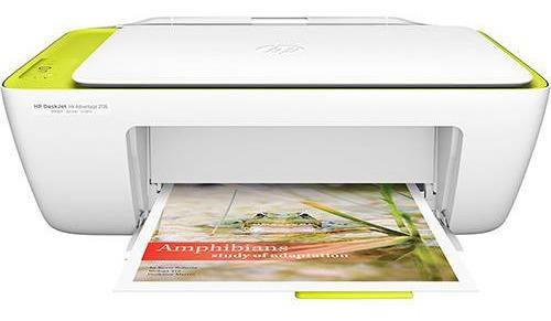 Impressora Multifunção Hp 2136 Imprime/copia/ Com Cartucho