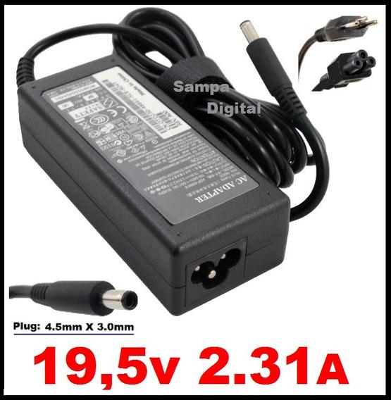 Carregador 19,5v 2,31a Ultrabook Dell Xps L321x Xps L322x