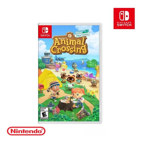 Imagen 1 de 1 de Juego Original Animal Crossing New Horizons Nintendo Switch