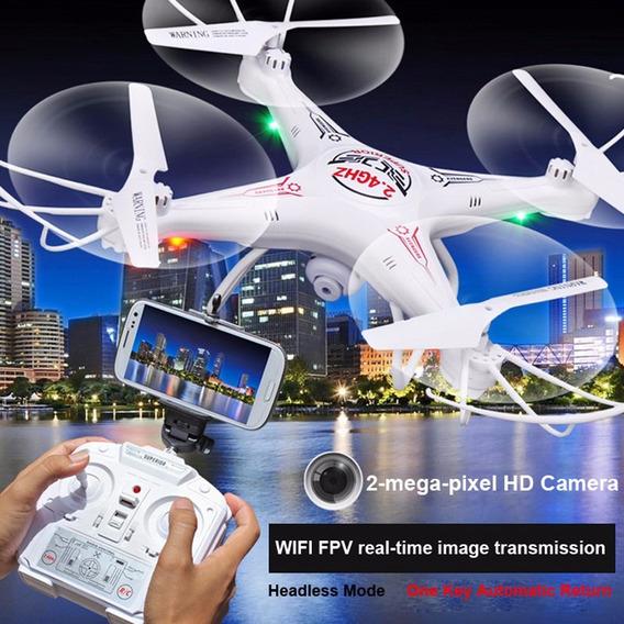 Wi-fi Rc Helicóptero Fpv Drones Com Câmera Hd 2-mega-pixel