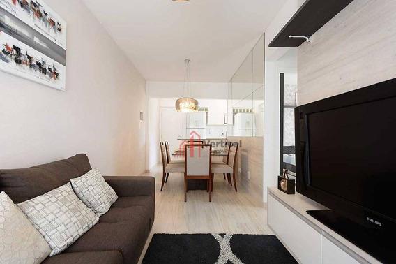 Apartamento Com 2 Dormitórios À Venda, 50 M² Por R$ 380.000,00 - Tatuapé - São Paulo/sp - Ap5948