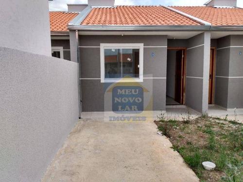 Imagem 1 de 17 de Casa Com 2 Dormitórios À Venda, 44 M² Por R$ 155.000,00 - Tatuquara - Curitiba/pr - Ca0472