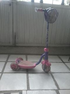 Patin Del Diablo Para Niña Color Roda