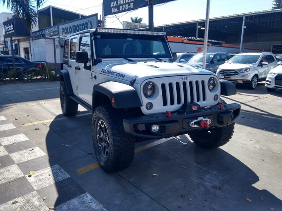 Jeep Wrangler Unlimited Rubicon 2015 Blanco