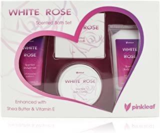 Set De Regalo De Rosa Blanca