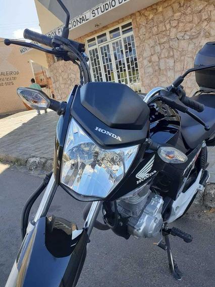 Honda/ Fan 160 - 2018 - Top Impecável - Km Baixo..