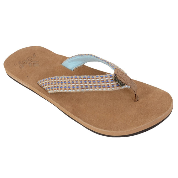 Chinelo Reef Gypsy Love Bege