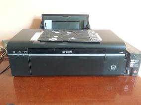 Impressora Jato De Tinta Epson L800 Imprime Cd Funcionando