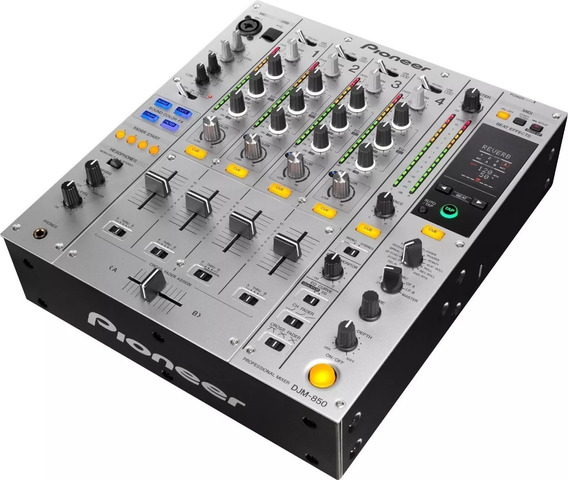 Mixer Pioneer Djm 850 Silver 4 Canais Djm-850s Na Lj 4:300