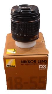 Objetivo Nikon 18-55 Mm Dx Digital 55 Mm