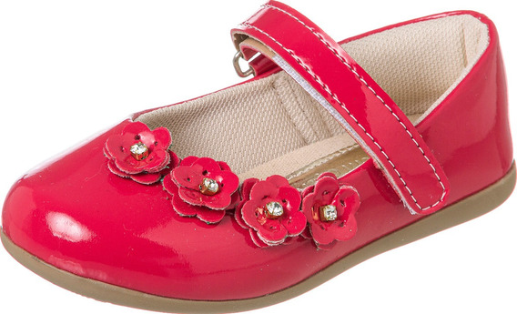 Sapatilha Com Velcro Infantil Menina 011.065