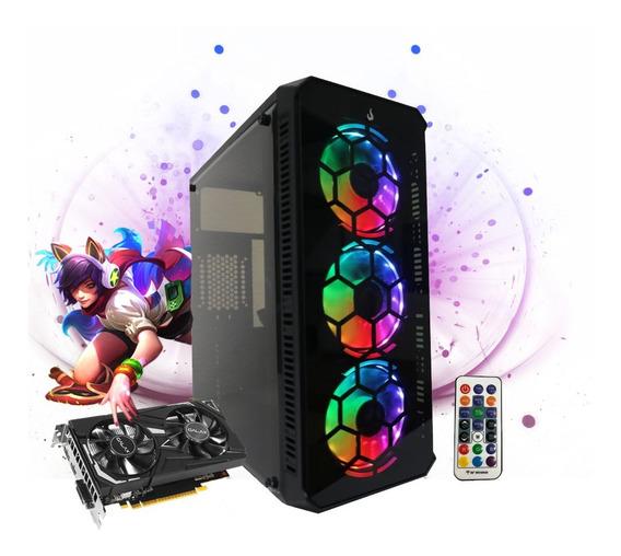 Pc Gamer Megatumi Tower 01 Intel I3 9100f, 2x4gb Hd 500gb Gt