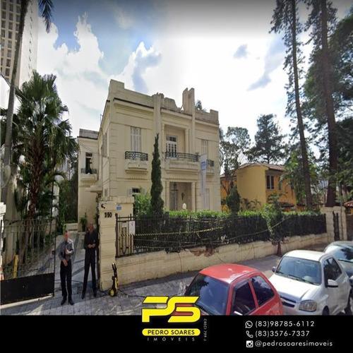 Palacete Para Alugar, 1150 M² Por R$ 70.000/mês - Jardim Paulista - São Paulo/sp - Ca0799