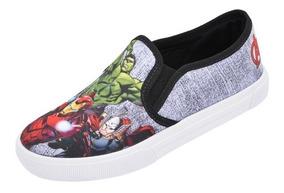 Tênis Iate Infantil Menino Vingadores Avengers Promoção