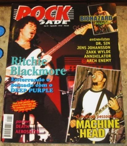 Rock Brigade N 157 Ritchie Blackmore Poster Death 1999