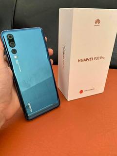 Huawei P20 Pro, Azul, Desbloqueado, 128gb, 6gb Ram