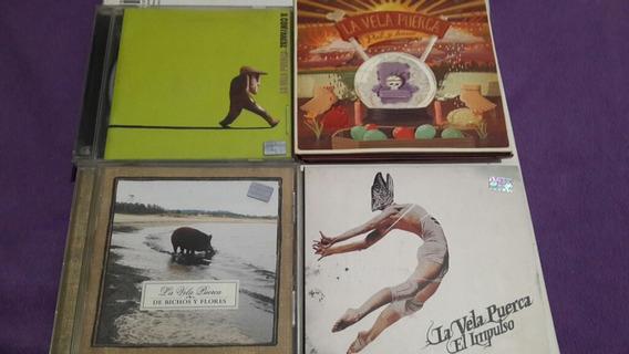 Lote De 5 Cds De La Vela Puerca 4 Albumes Uno Es Doble