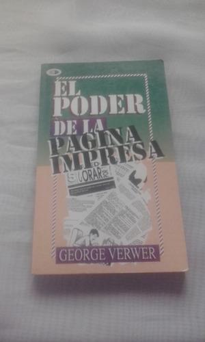 El Poder De La Pagina Impresa De George Verwer