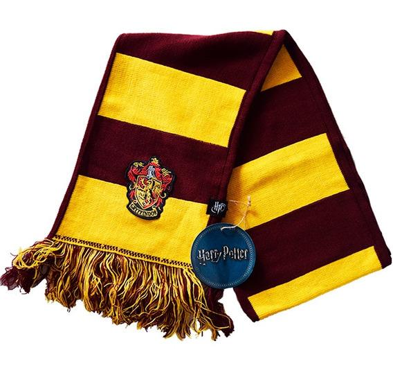 Bufanda - Harry Potter - Gryffindor - Rayada