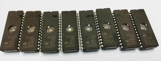 Memória Eprom M27c512 (kit Com 5 Peças)