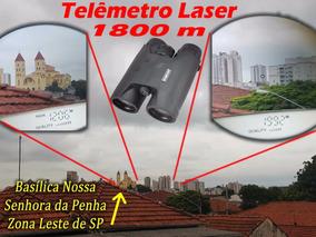 Telêmetro Laser - Binoculo 8x42mm - Range Finder 1800m