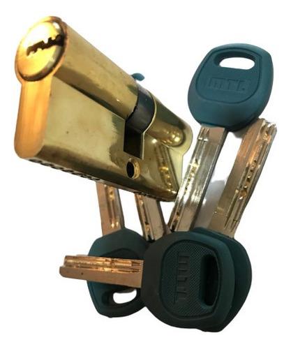 Cilindro De Seguridad Mtl Para Cerradura Cisa M6 Invliolable