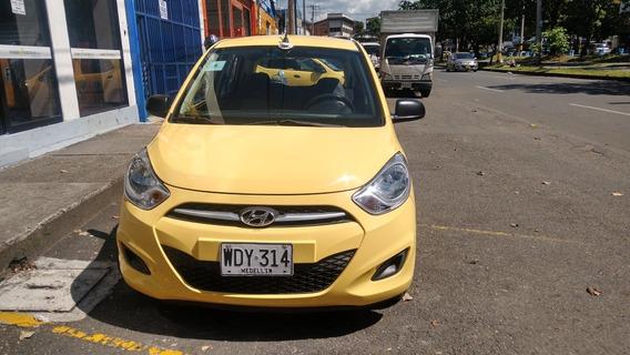 Taxi Hyundai I10 Afiliado Coopebombas, Recibo Su Usado