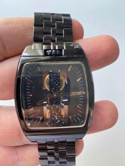 Relógio Corum Black Usado 1 Vez Sofisticado E Moderno