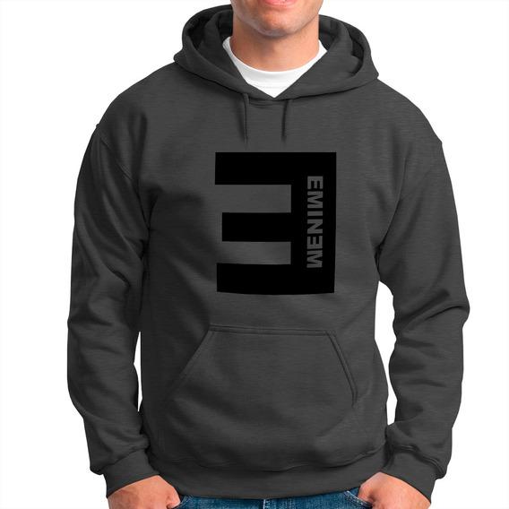 Blusa Moletom Eminem Love Canguru !! Mod:03