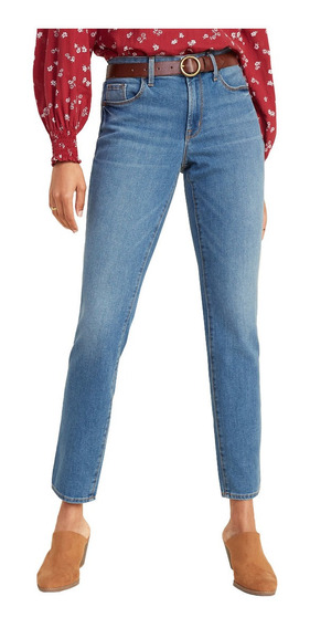 Jeans Dama Pantalón Mujer Mezclilla Power Slim Old Navy