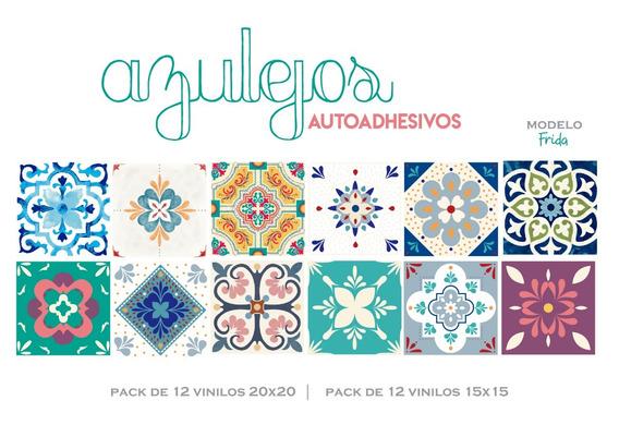 Azulejo Autoadhesivo - 20x20 - Pack De 12 Unidades