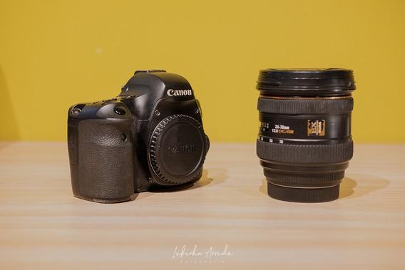Canon 6d Full Frame + Lente Sigma 24-70mm (imperdível!)